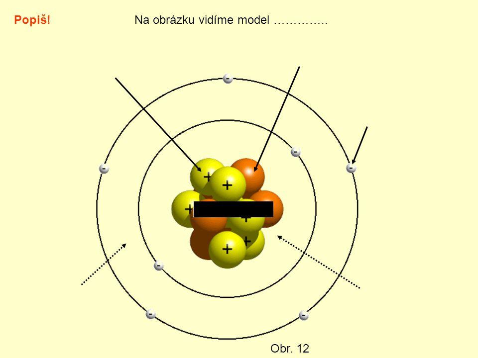 Popiš!Na obrázku vidíme model ………….. Obr. 12