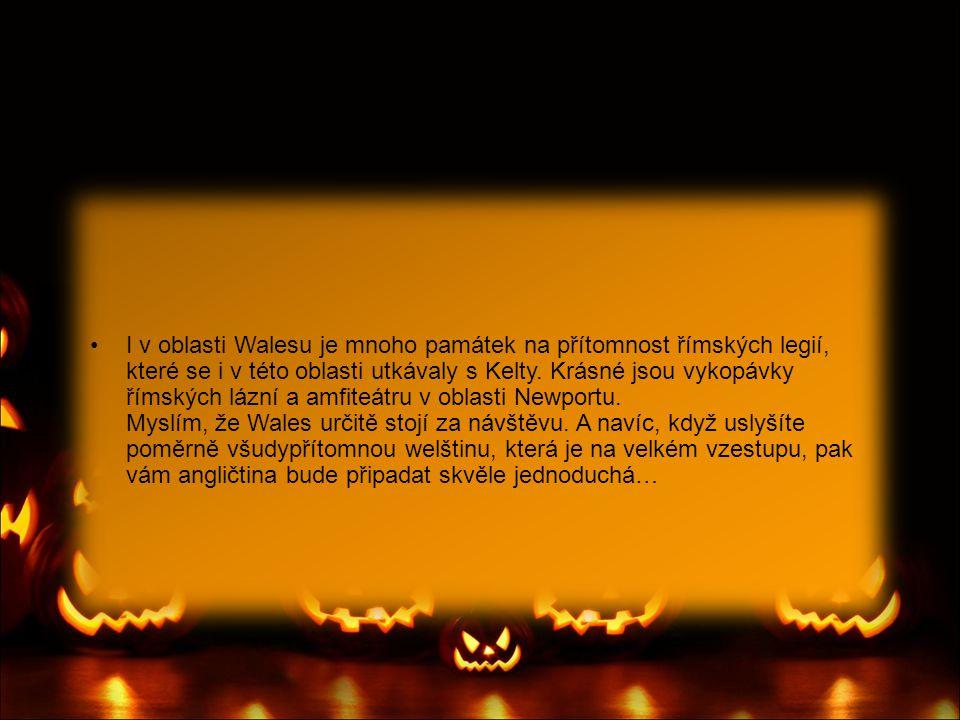 •Velkým podzimním svátkem, kromě Halloweenu, je listopadový Guy Fawkes` Night (trochu by se dal přirovnat k našim Čarodějnicím).