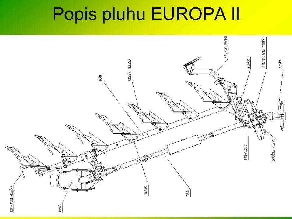 Popis pluhu EUROPA II