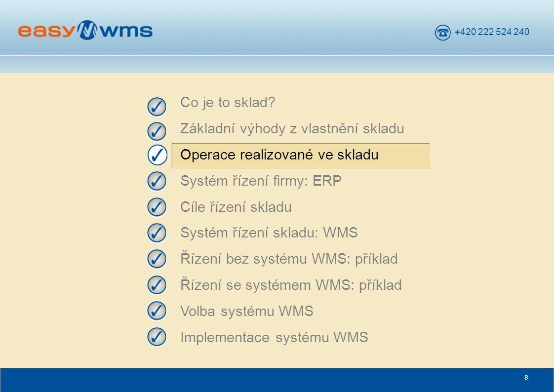 +420 222 524 240 69 Manuální režim Operátor v tomto případě používá seznam (obvykle vytištěný na papíře ze systému ERP) materiálu, který je nutné odebrat.