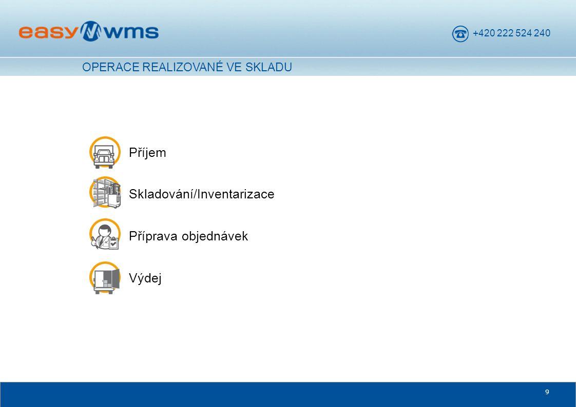 +420 222 524 240 90 je instalován na přenosná zařízení, která splňují následující požadavky: Rádiová síť WLANKomunikace Čtečka etiketJiné (volitelně) QVGA [240x320 pixel] VGA [480x640] Barevný/černobílý Vlastnosti displeje 64 MbPaměť flash 64 MbPaměť RAM Intel X-Scale PXA270 a 624 MHzMikroprocesor Windows CE verze 5.0 nebo vyššíOperační systém POŽADAVKY NA VYBAVENÍ