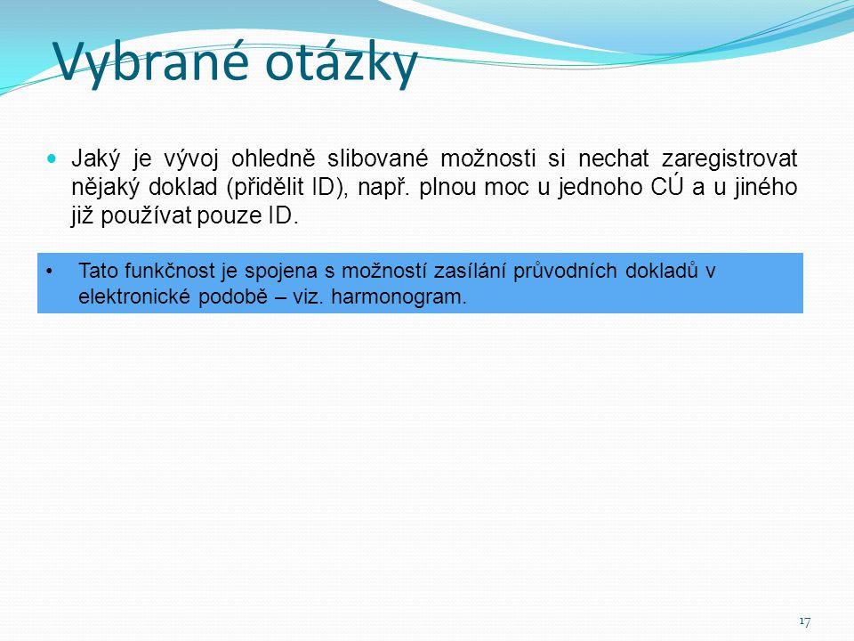  Dnešní postup použití záruční listiny je nesmyslný (nejdříve dojít na CÚ registrovat ZL do systému GLZ, a to bez podání CP, poté se vrátit do kanceláře a podat CP s již registrovaným číslem ZL a znovu se vydat na CÚ).