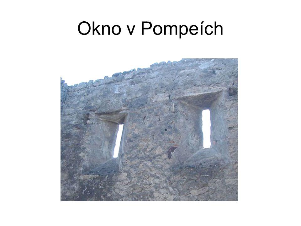 Okno v Pompeích