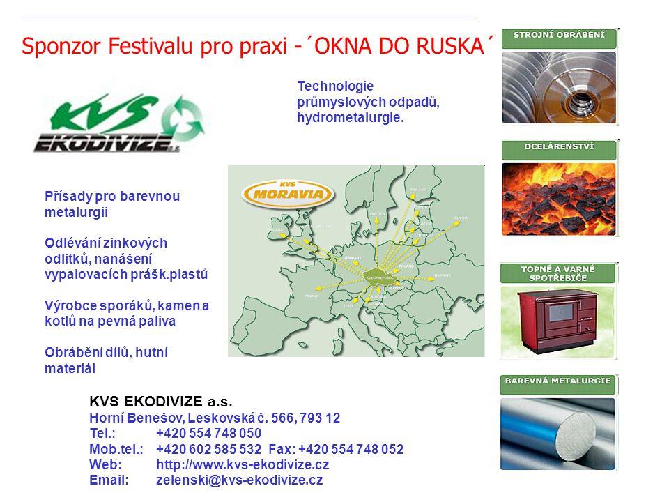 Technologie průmyslových odpadů, hydrometalurgie. KVS EKODIVIZE a.s.
