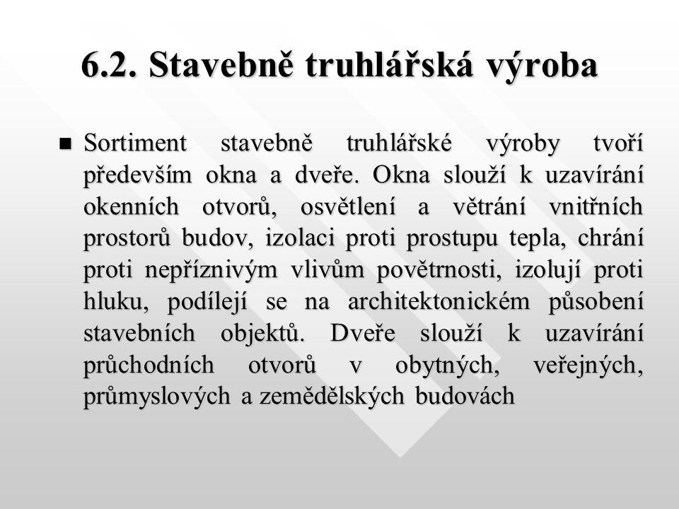 Střední odborné učiliště stavební, odborné učiliště a učiliště Sabinovo náměstí 16 360 09 Karlovy Vary Bohuslav Vinter odborný učitel uvádí pro T2 tuto výukovou prezentaci : 6.2 Výroba dřevěných oken – Uhlíř II