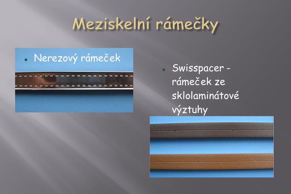  Nerezový rámeček  Swisspacer - rámeček ze sklolaminátové výztuhy
