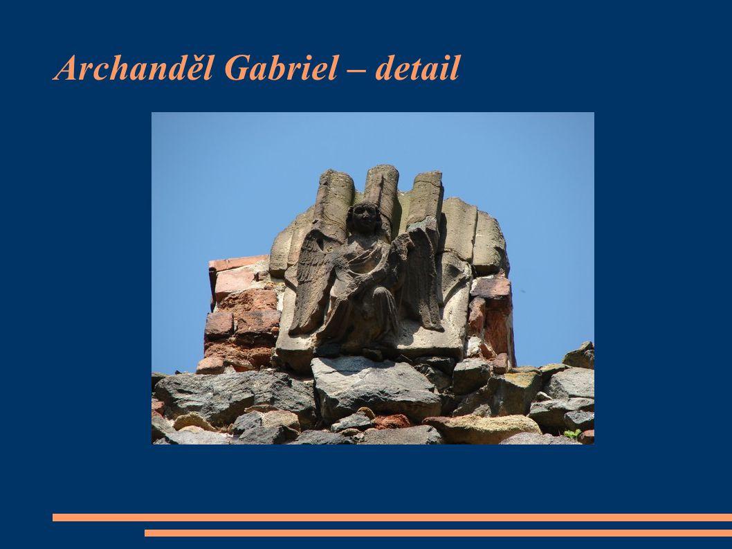 Archanděl Gabriel – detail