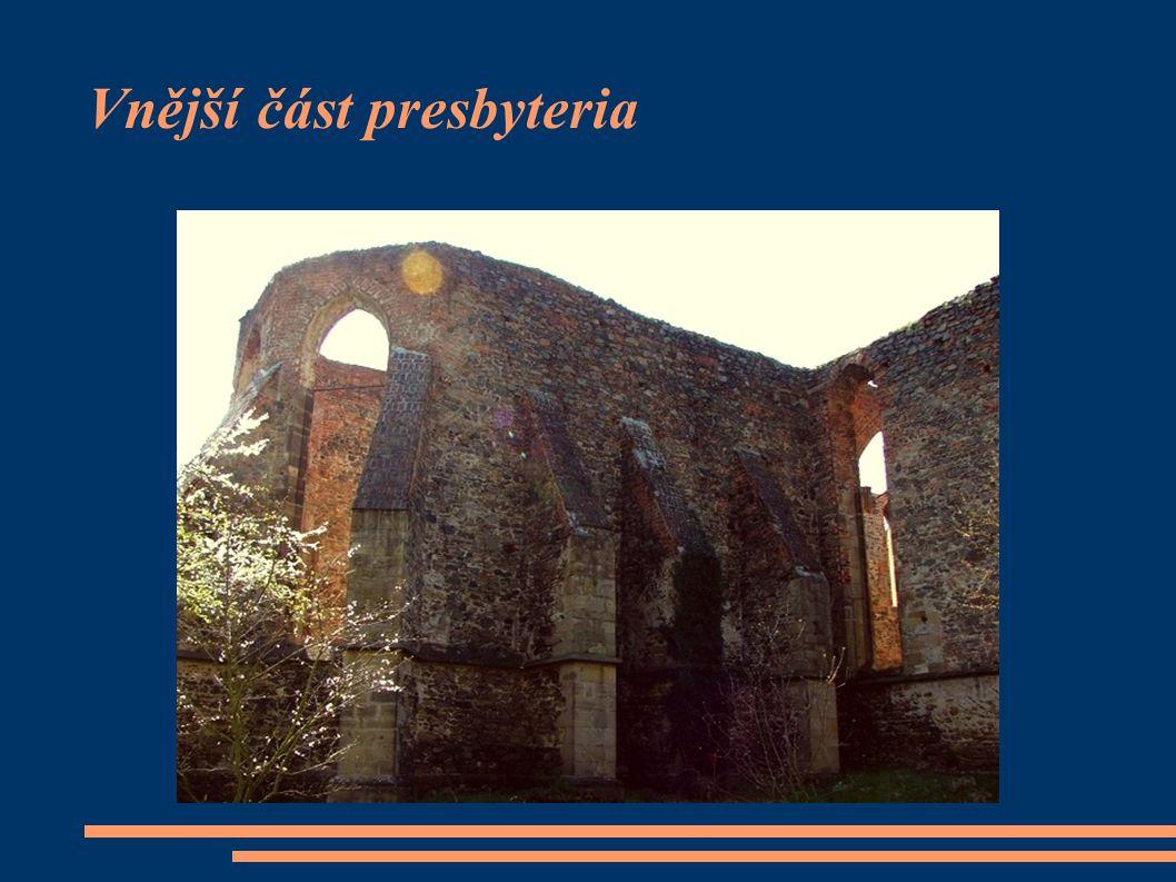 Vnější část presbyteria