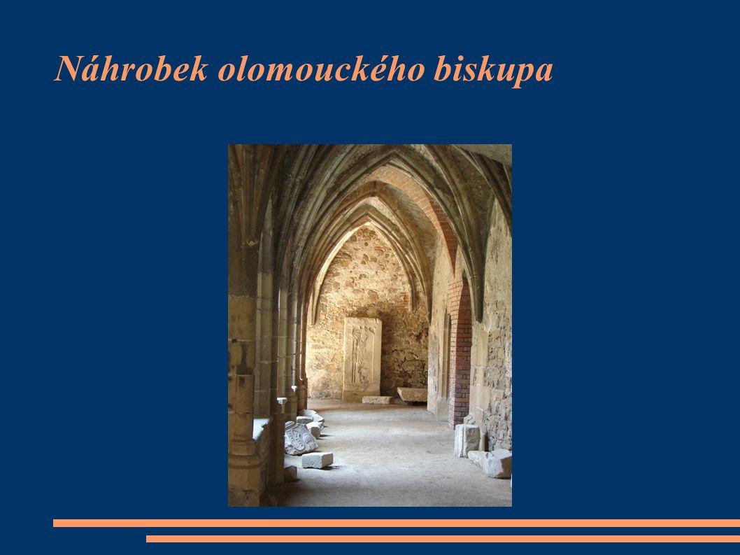 Náhrobek olomouckého biskupa