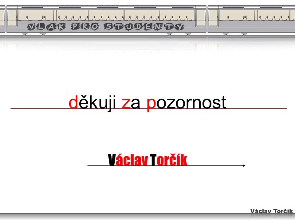 děkuji za pozornost Václav Torčík