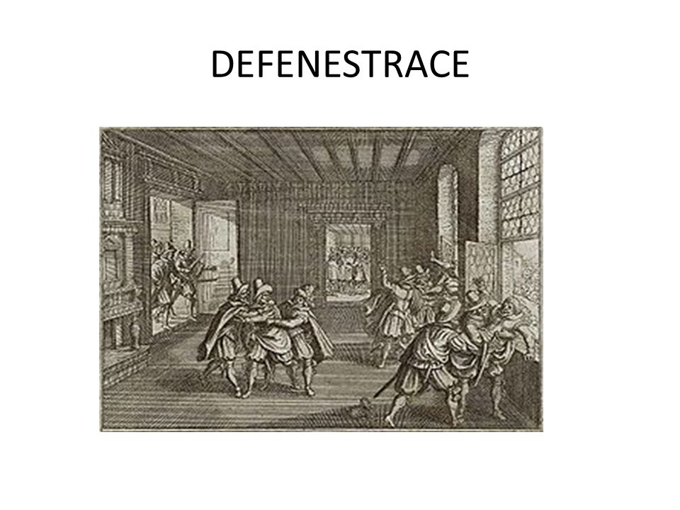 DEFENESTRACE