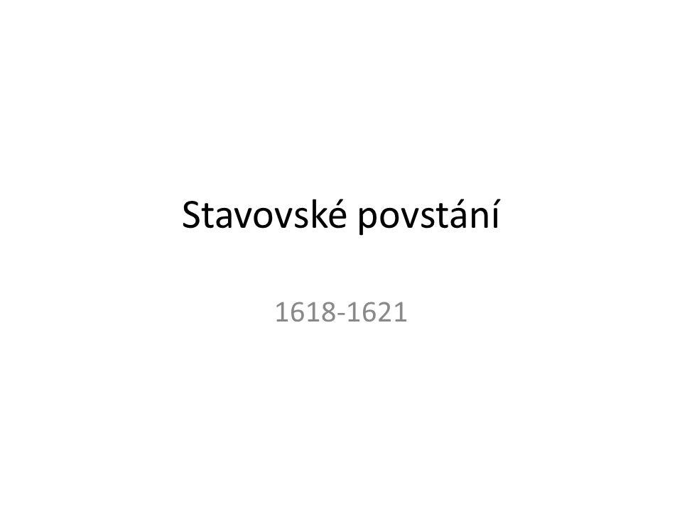 Stavovské povstání 1618-1621