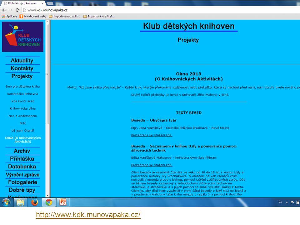 http://www.kdk.munovapaka.cz/