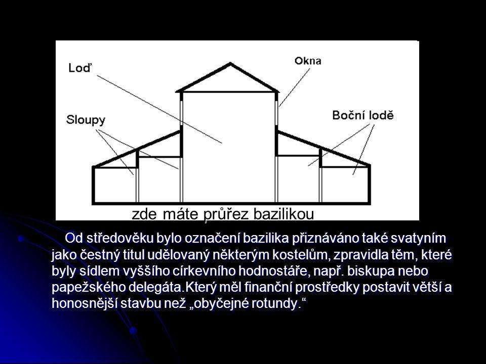 Rotundy mají kruhovitý půdorys, mají apsidu, což je podkovovitý přístavek, v němž je umístěn oltář. Rotundy mají kruhovitý půdorys, mají apsidu, což j