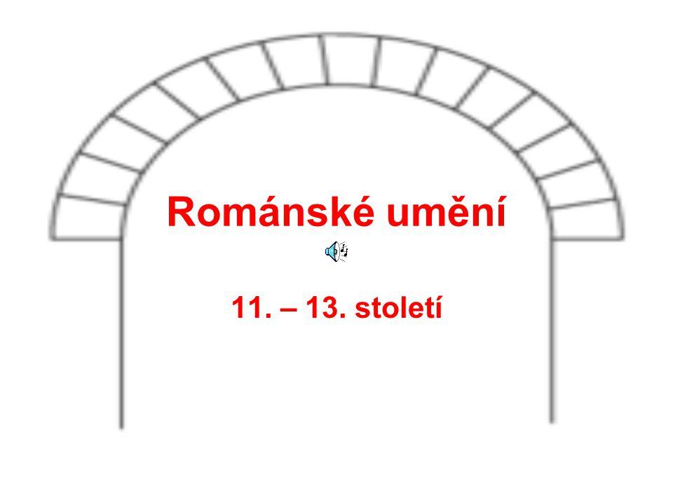 Románské umění 11. – 13. století