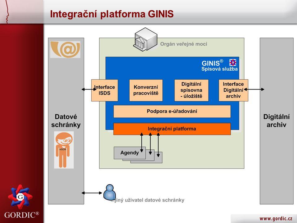Integrační platforma GINIS