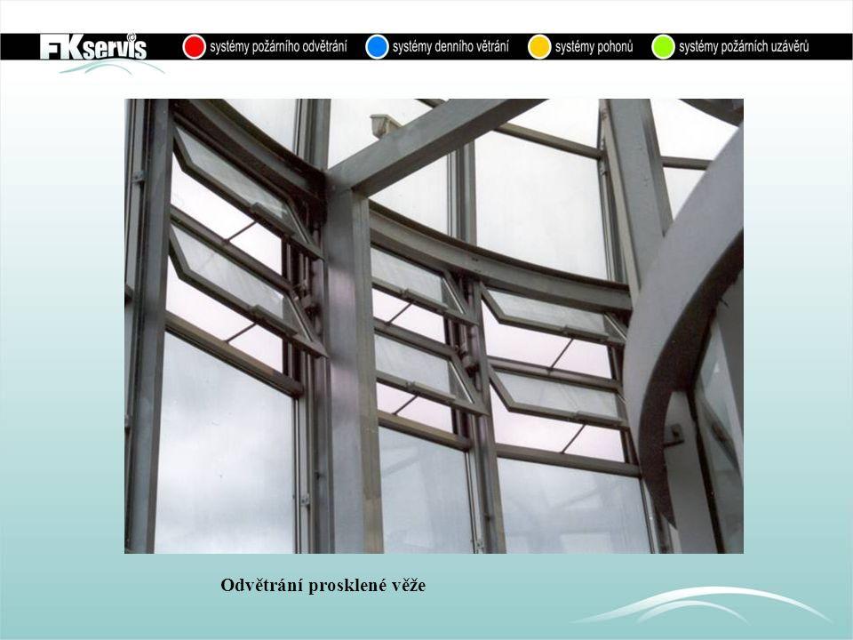 Okna k odvětrání věže