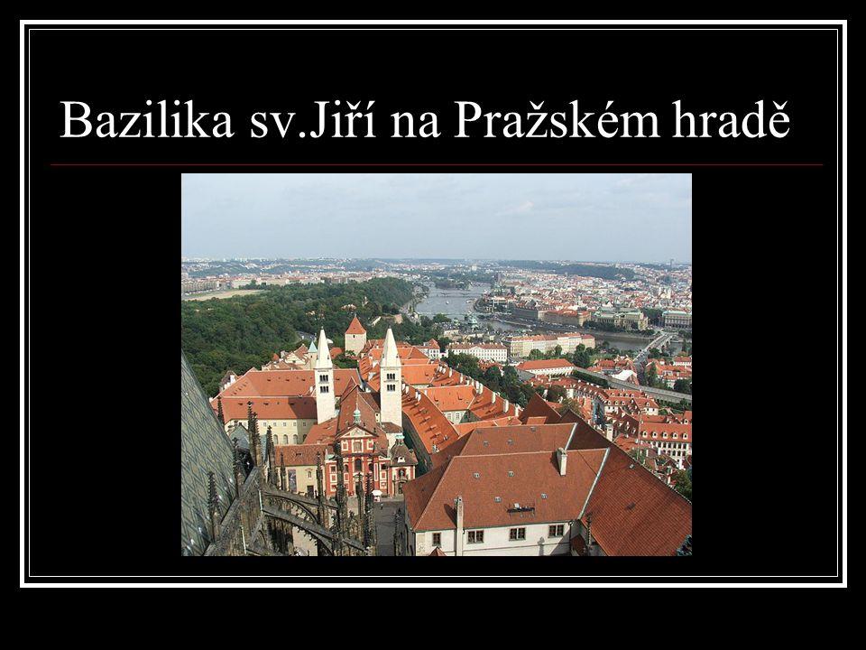 Bazilika sv.Jiří na Pražském hradě