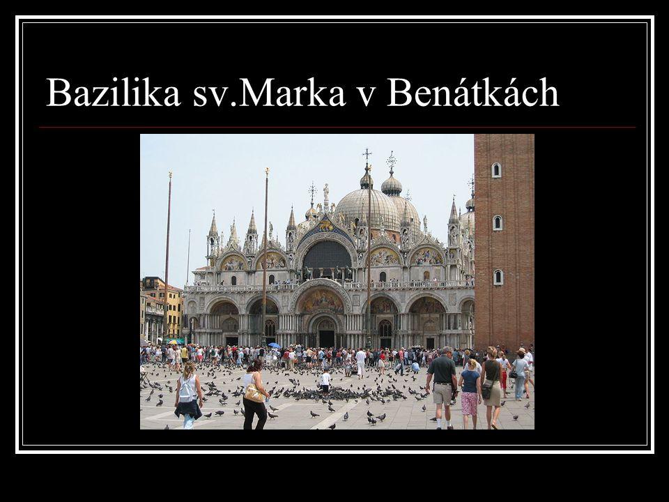 Bazilika sv.Marka v Benátkách