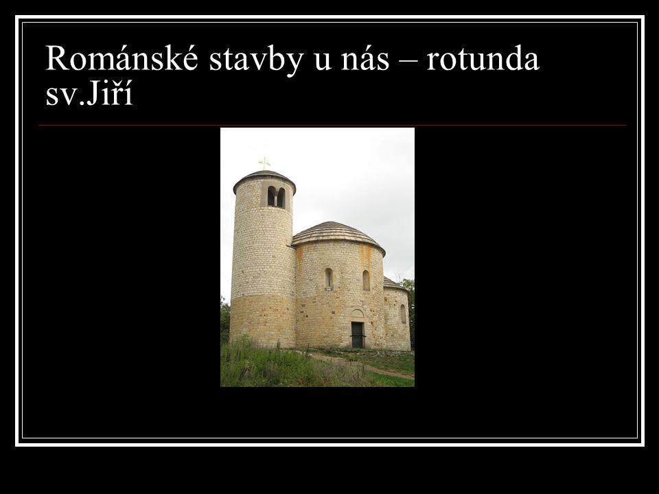 Románské stavby u nás – rotunda sv.Jiří