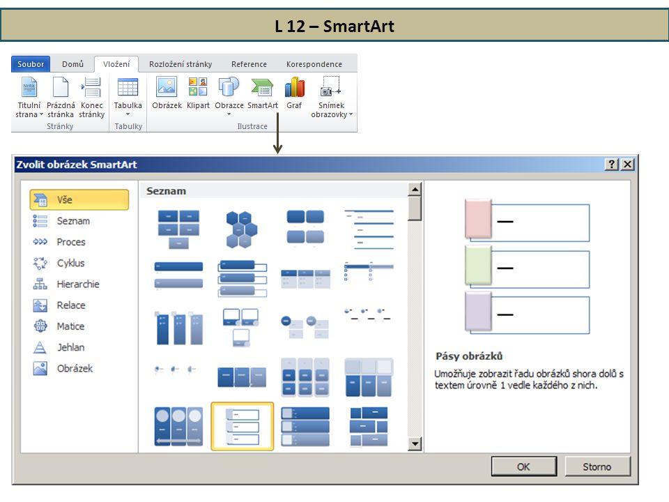 L 12 – SmartArt