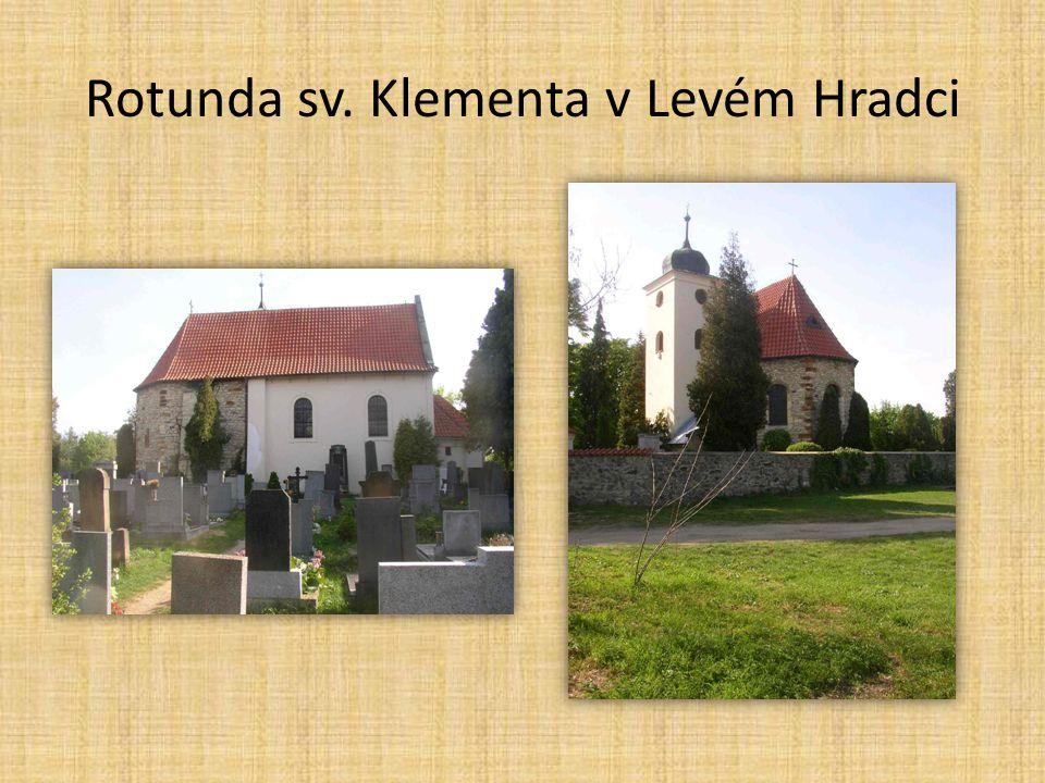 Česká architektura • rotundy, baziliky • centrum v Praze mezi Pražským hradem a Vyšehradem (mezi několik osad) • sv.