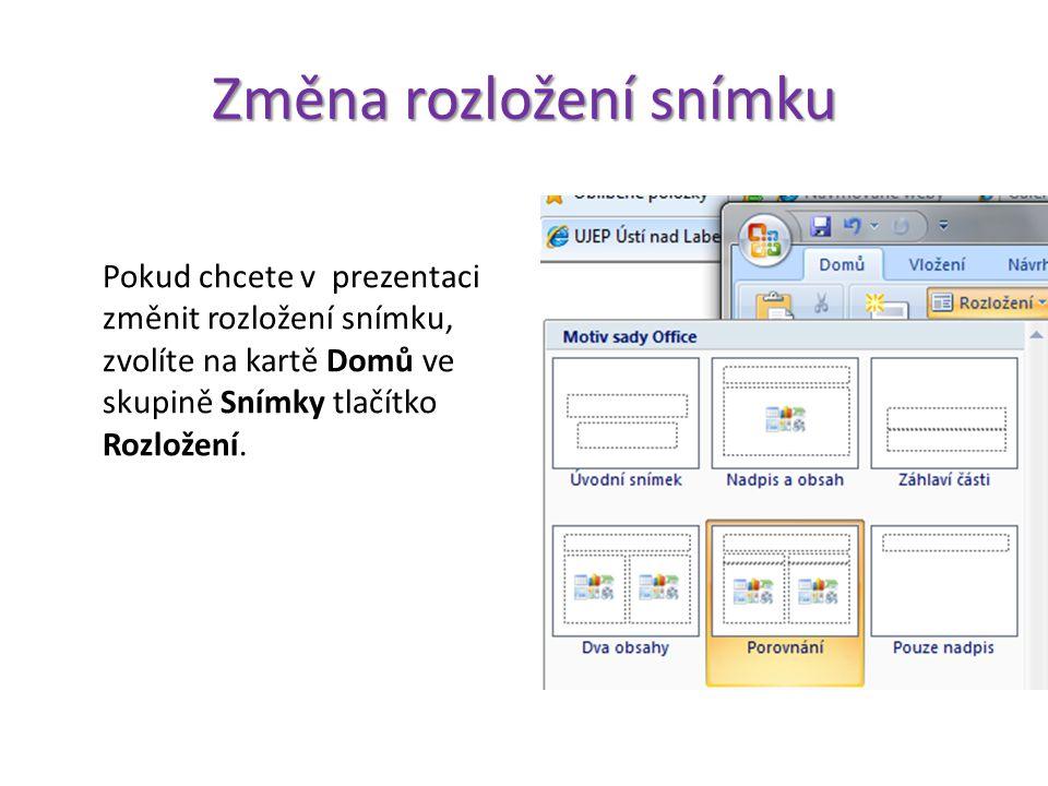Zabezpečení prezentace Pokud nechcete všem uživatelům umožnit otevření vaší prezentace, nabízí se nastavení zabezpečení, které povolí přístup pouze uživatelům, kteří znají správné heslo.