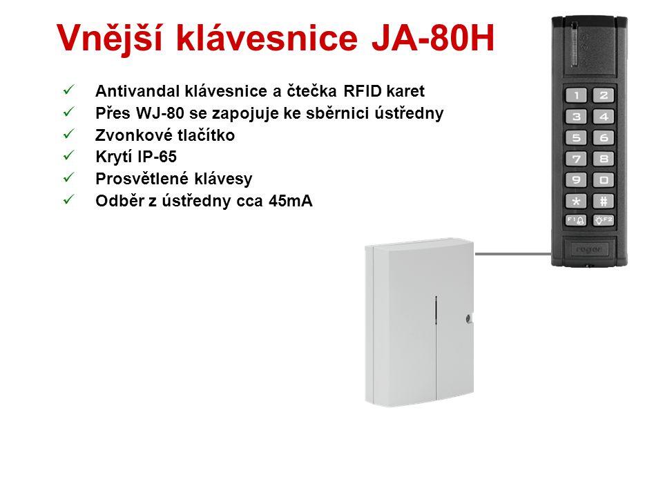 Přístupová karta PC-01  Bezdotyková RFID (EM UNIQUE 125kHz)  Spolupracuje s klávesnicí F, E, H a N  Naučit lze až 50 karet  Karta funguje jako kód
