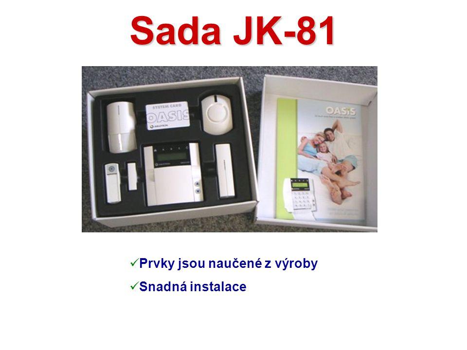 Klávesnice JA-80F Vlastnosti:  LCD displej (2x 16 znaků)  1.