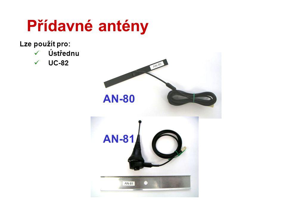 Kabel JA-80T  Umožňuje připojit k ústředně počítač  Využívá USB rozhraní  Podporuje Comlink verze 80 a vyšší  Připravuje se verze 80BT (Bluetooth)