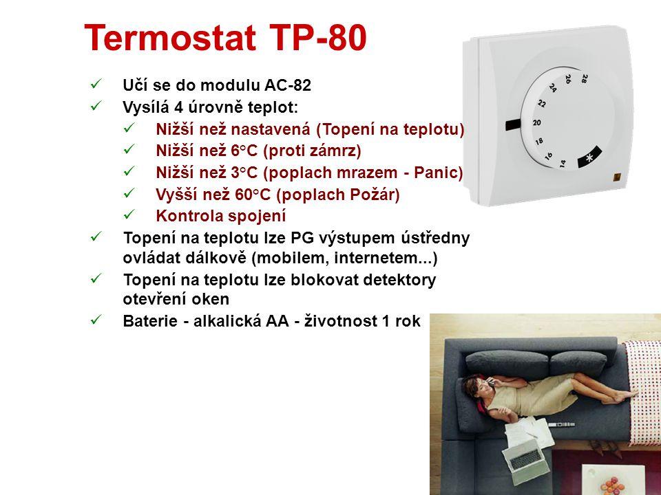 Přídavné antény Lze použít pro:  Ústřednu  UC-82 AN-80 AN-81