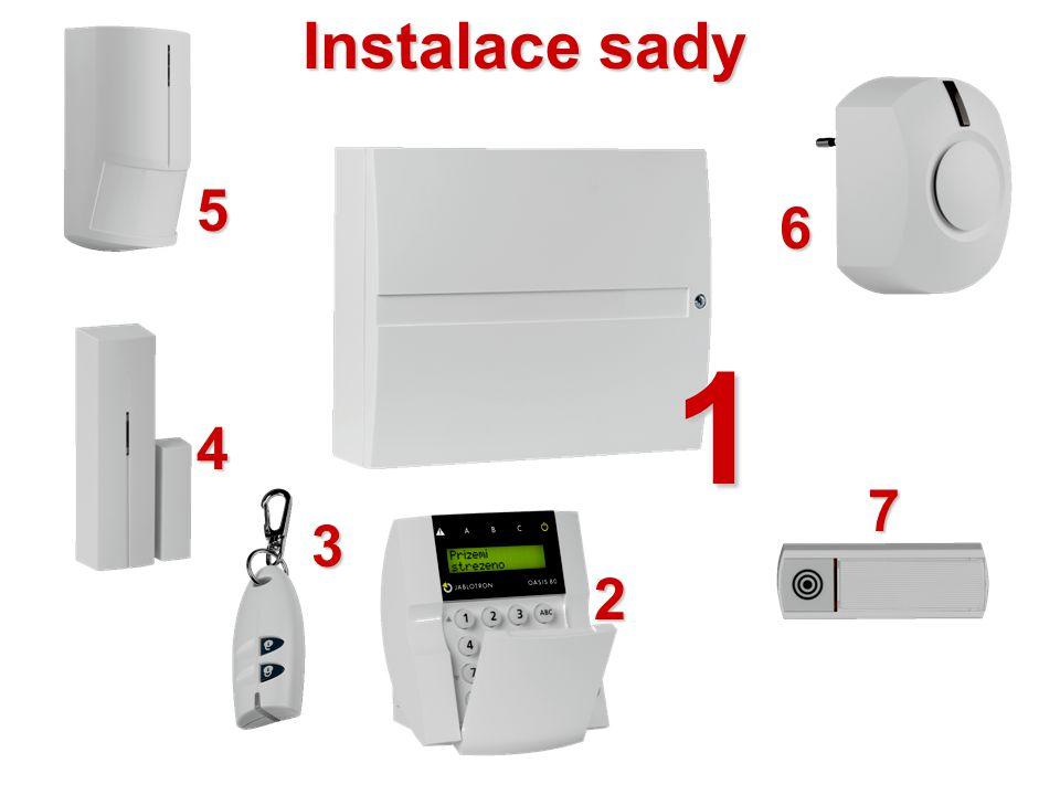 ALARM mráz (porucha topení) Ventily a čerpadlo Přijímač topení Termostaty Okenní detektoryÚstředna EZS Dálkové ovladače Telefon Tok signálu
