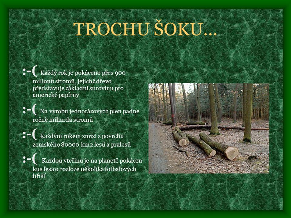 TROCHU ŠOKU...