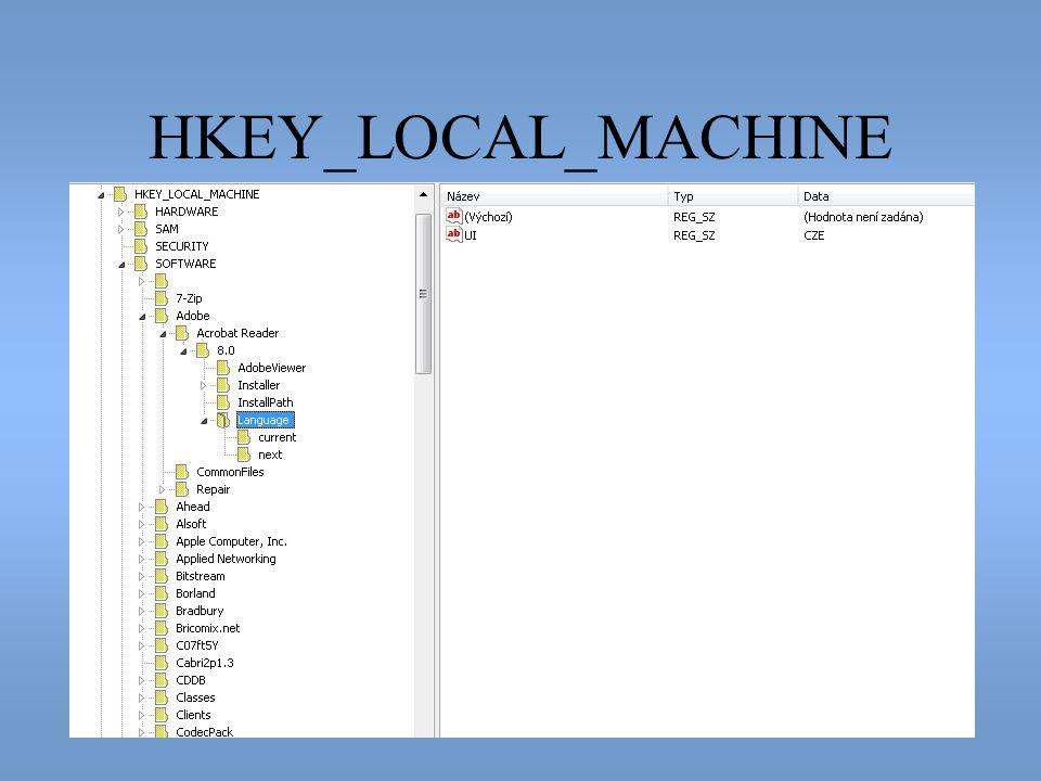 HKEY_LOCAL_MACHINE