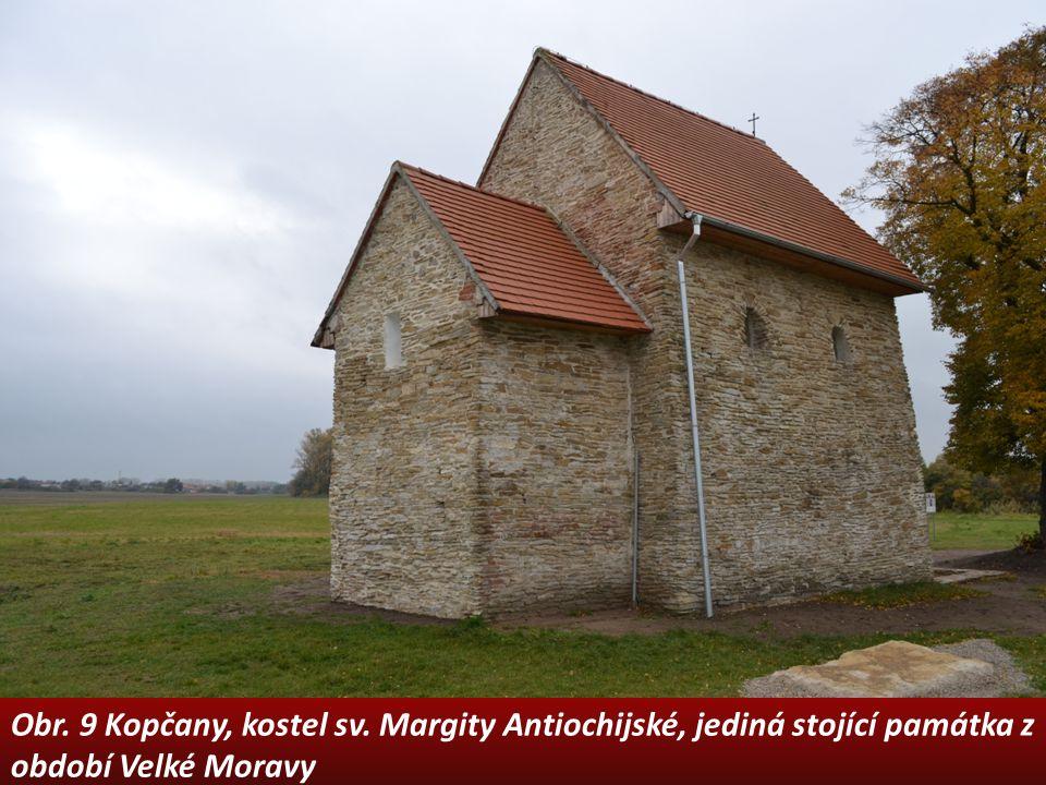 Obr. 9 Kopčany, kostel sv. Margity Antiochijské, jediná stojící památka z období Velké Moravy