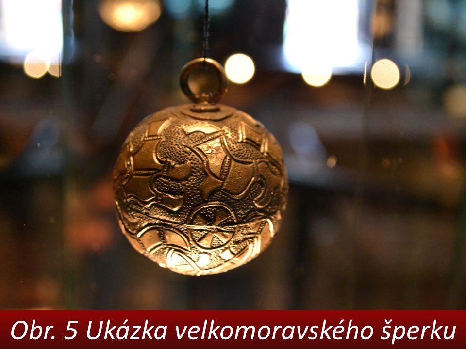 Obr. 5 Ukázka velkomoravského šperku