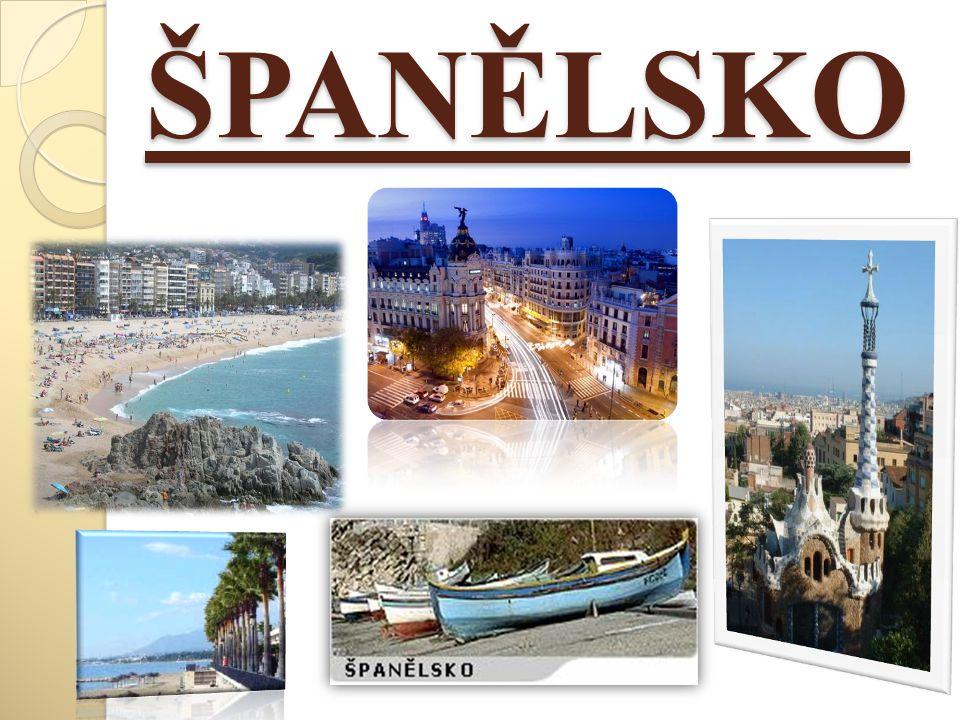 Hlavní město: Madrid Rozloha: 504 782 km² Počet obyvatel: 46 milionů Král: Juan Carlos I.