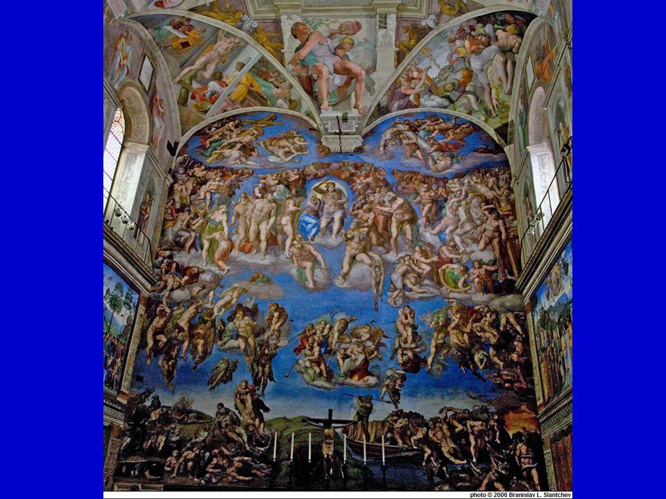 HUMANISMUS A RENESANCE renesanční umění Michelangelo Buonarotti Sixtinská kaple, Vatikán
