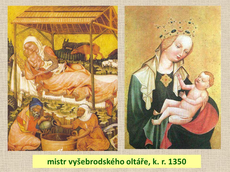 mistr vyšebrodského oltáře, k. r. 1350