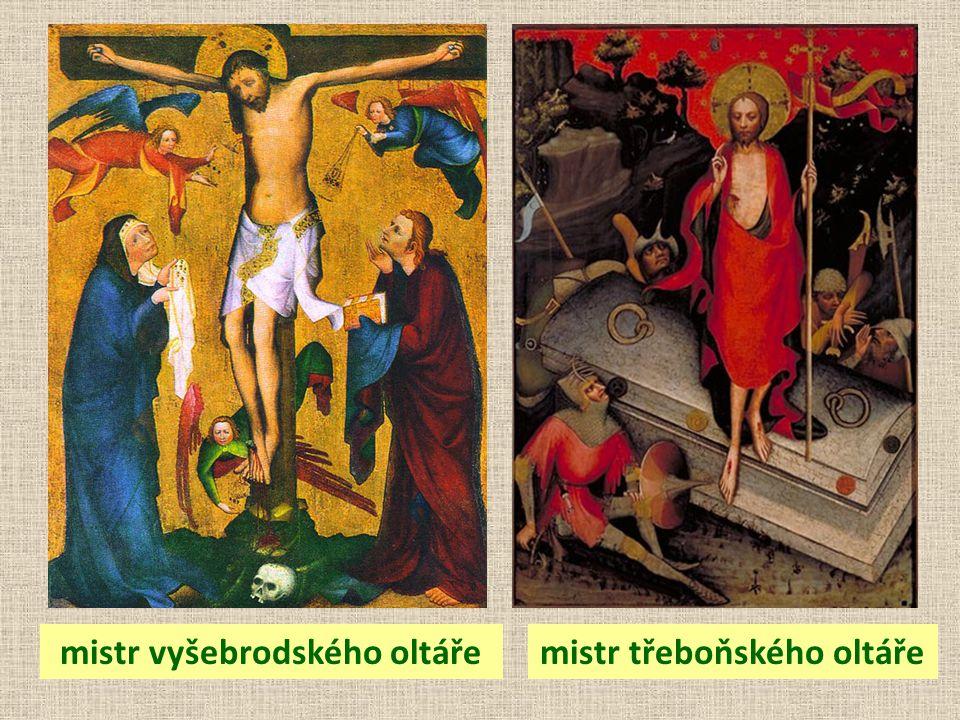 mistr vyšebrodského oltářemistr třeboňského oltáře