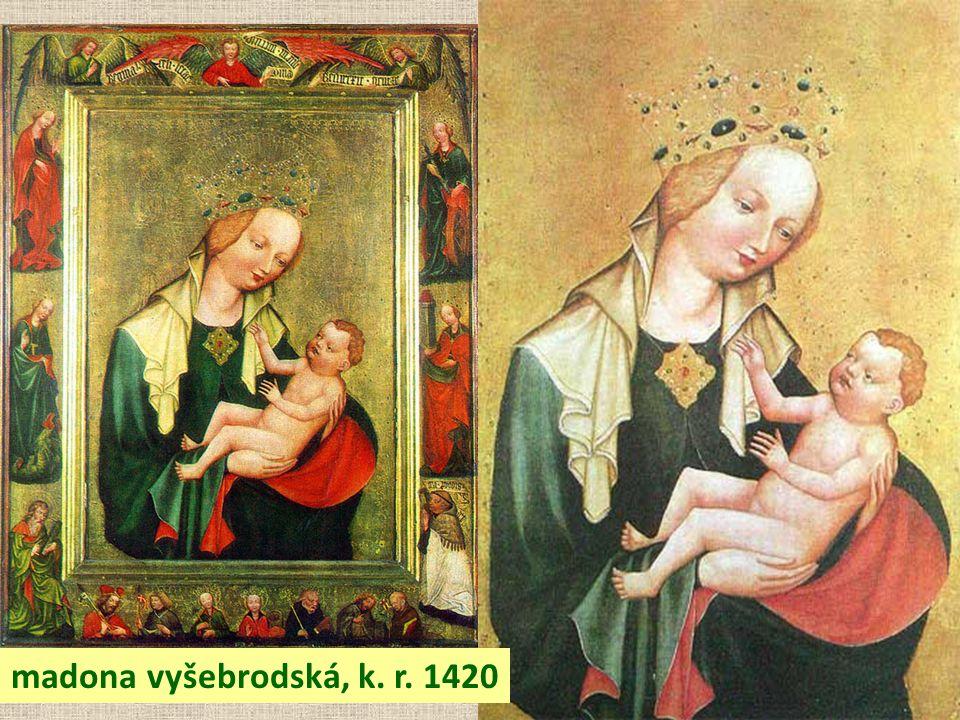 madona vyšebrodská, k. r. 1420