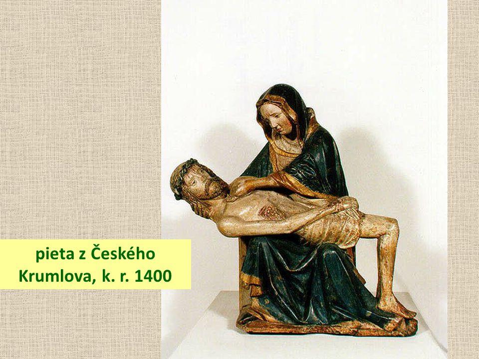 pieta z Českého Krumlova, k. r. 1400