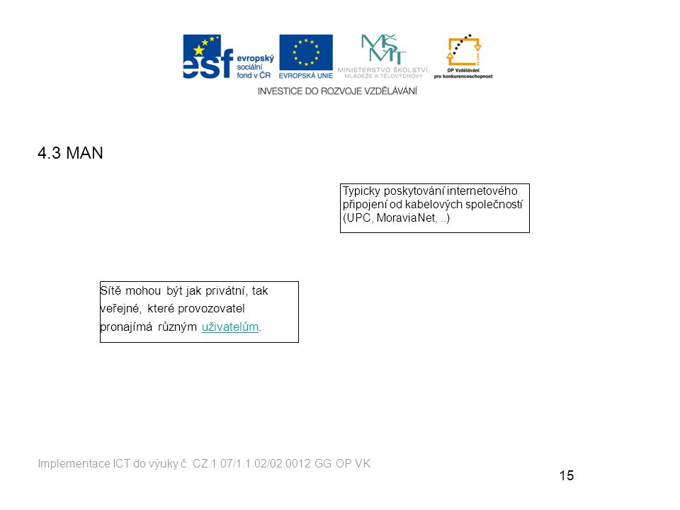 15 Implementace ICT do výuky č.