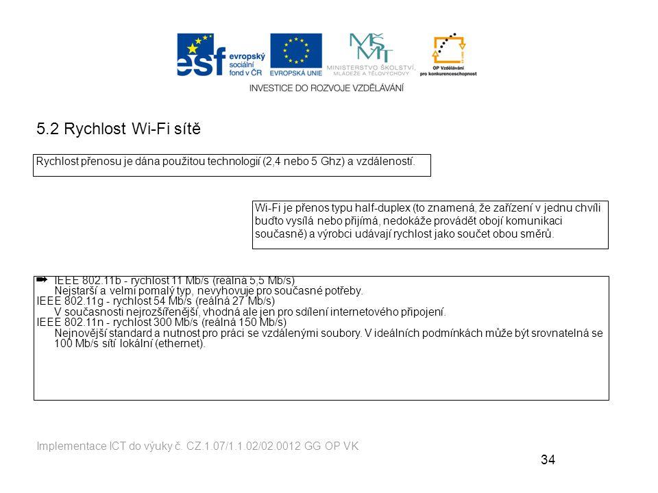 34 Implementace ICT do výuky č.
