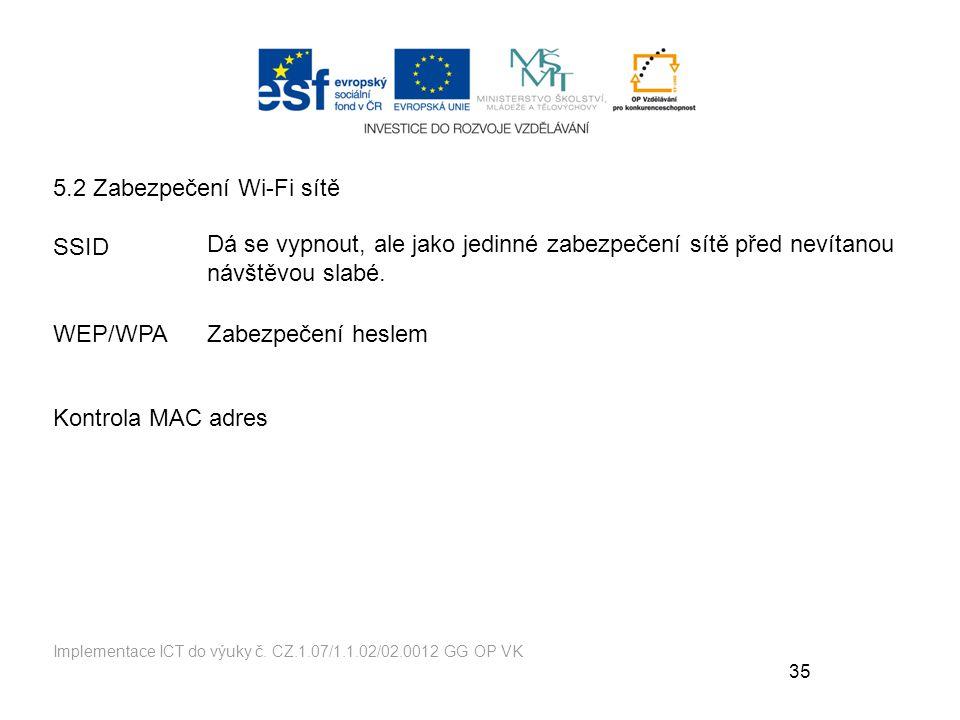 35 Implementace ICT do výuky č.