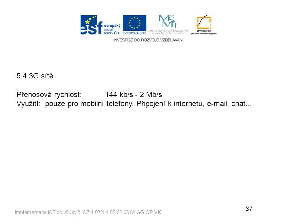 37 Implementace ICT do výuky č.