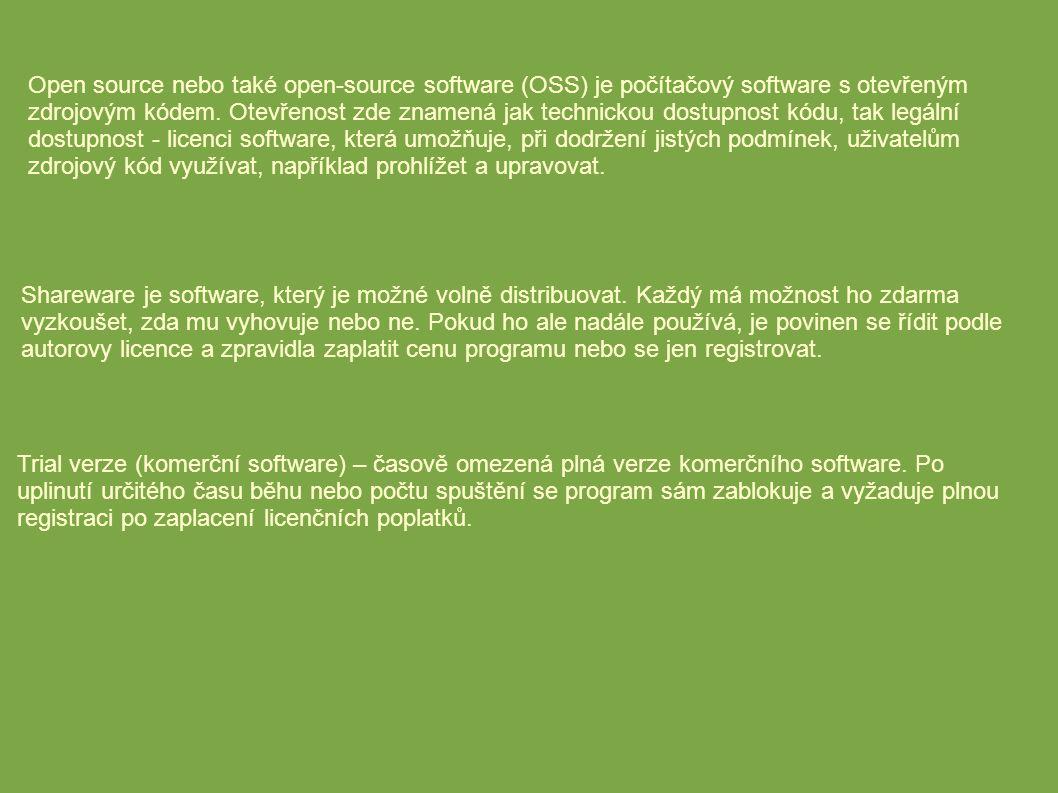 Open source nebo také open-source software (OSS) je počítačový software s otevřeným zdrojovým kódem.
