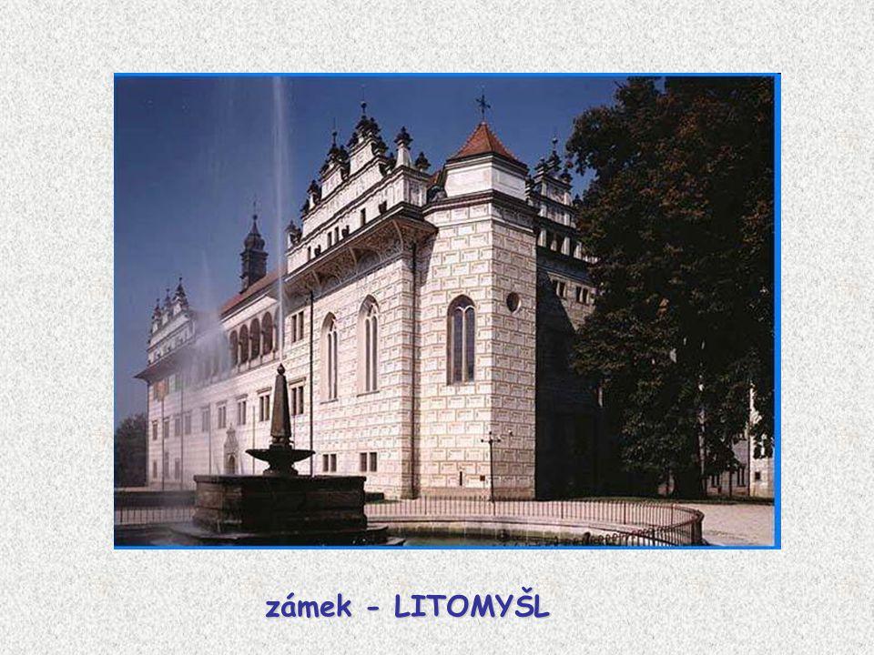 zámek - LITOMYŠL