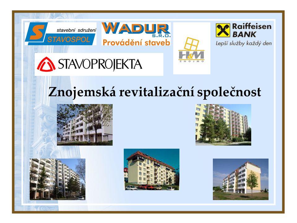 Společný projekt firem Stavospol Znojmo, stavební sdružení WADUR s.r.o.