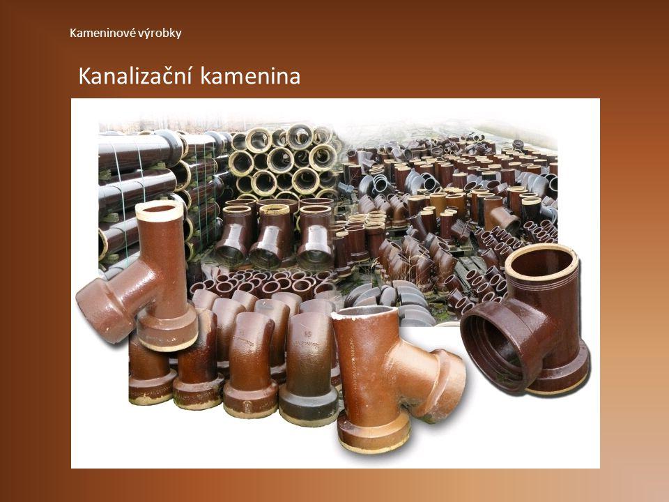 Kameninové výrobky Kanalizační kamenina